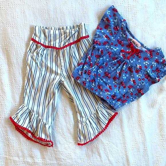 Summer set. Size 4t.